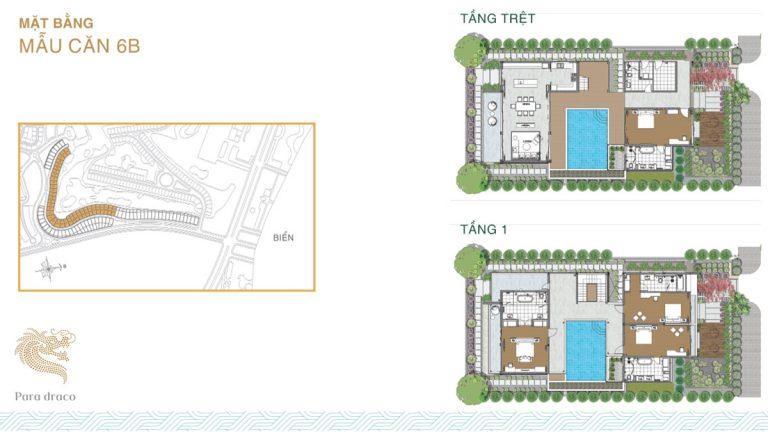 Mặt bằng quy hoạch của dự án